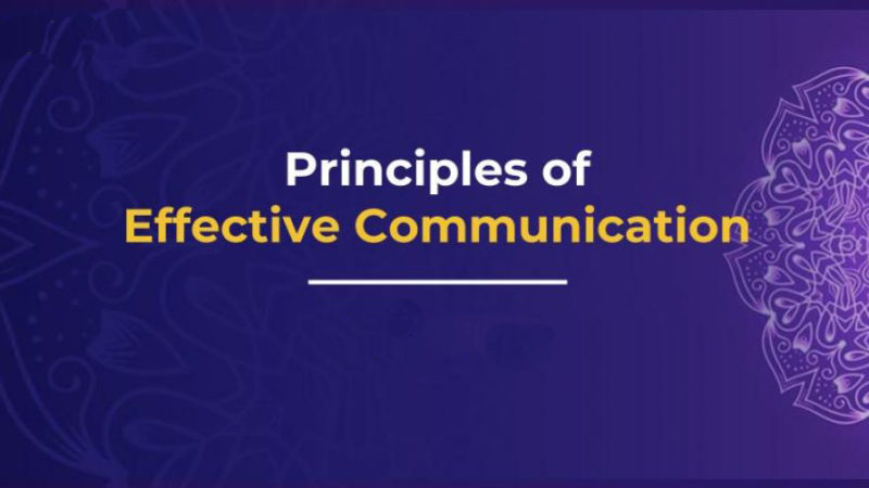 The 10 principles of effective communication